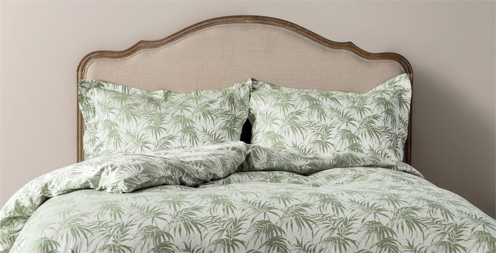 Palms Jacquard Bed Linen
